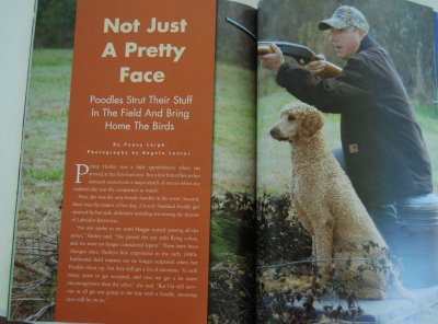 Article in Dog Sport Mag.