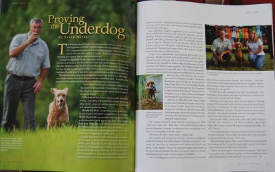 "Featured in PURINA Today's Breeder Issue #79  ""Proving the Underdog"""